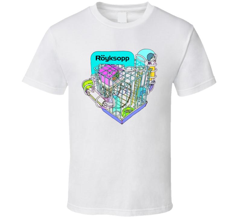 Royksopp Norway Techno Duo Music T Shirt