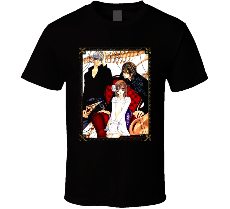Vampire Knight Zero Japanese Anime Manga T Shirt