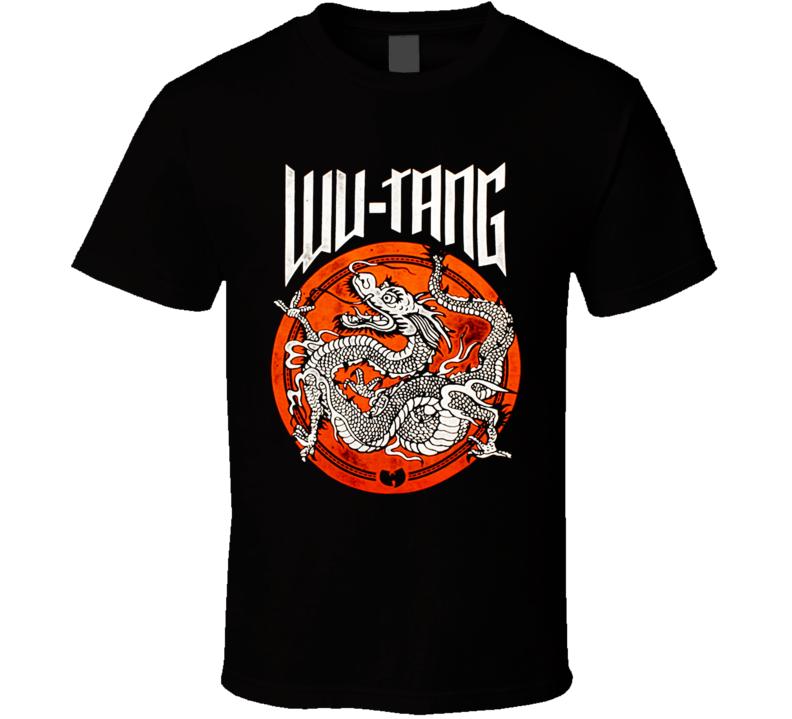 Wu-Tang Dot Dragon Hip Hop T Shirt