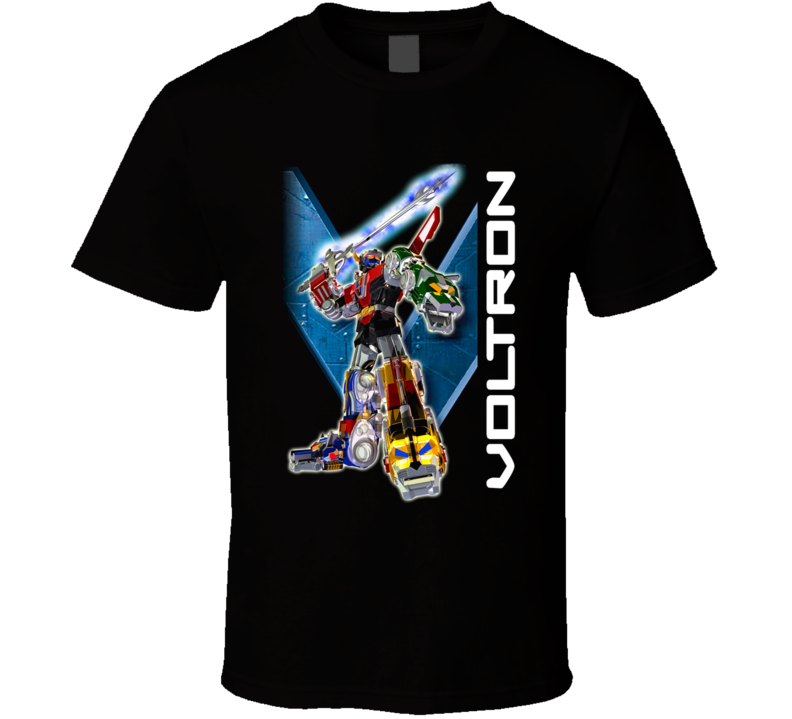 Voltron Sword Raised High Anime Manga Cool T Shirt