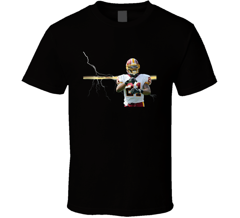 Sean Taylor Tribute Football Player T Shirt