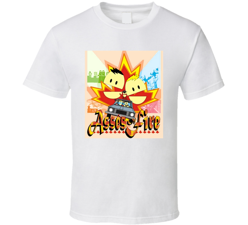 South Park Terrance And Phillip Asses Of Fire T Shirt