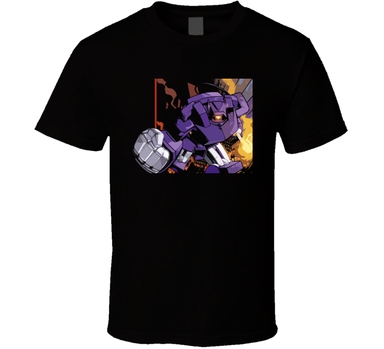 Shockwave Transformers Retro Deception T Shirt