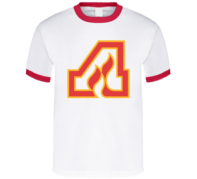 Atlanta Flames Hockey T Shirt