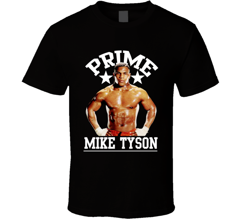 Mike Tyson In His Prime Boxer Boxing Legend Fan T Shirt