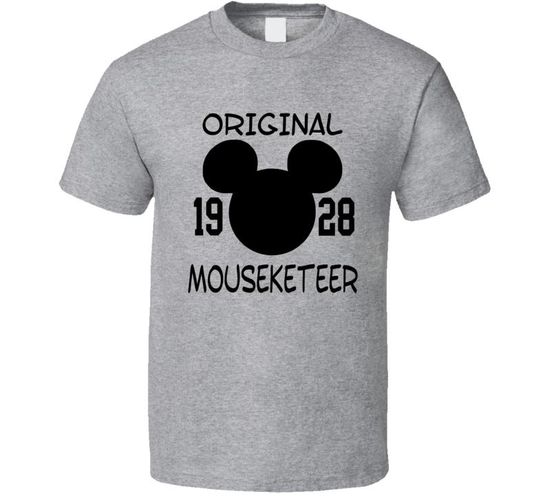 Original Mouseketeer Since 1928 Funny Trending Cool Fan T Shirt