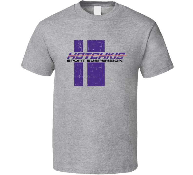 Hotchkis Automobile Car Truck Motorcycle Auto Parts Cool Distressed Style Brand Logo Emblem T Shirt