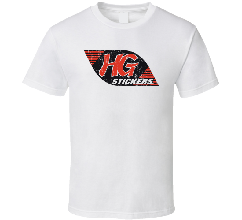 HG Stickers Automobile Car Truck Motorcycle Auto Parts Cool Distressed Style Brand Logo Emblem T Shirt