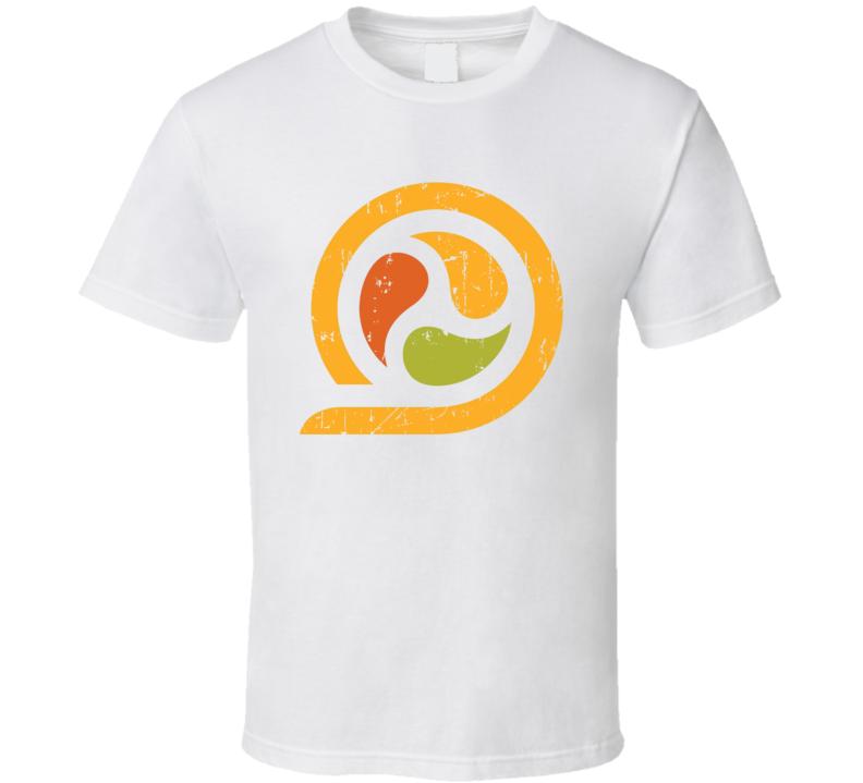 Sushirrito Logo Popular Sushi Burrito Restaurant Fresh Food Fan Gift T Shirt