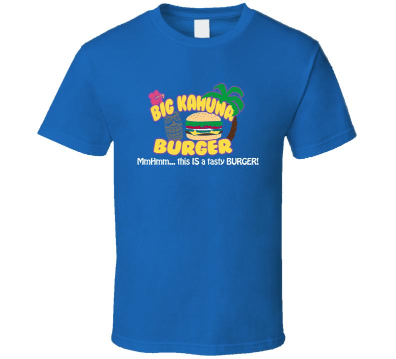 Big Kahuna Burger Pulp Fiction Resturant Funny Parody Movie T Shirt