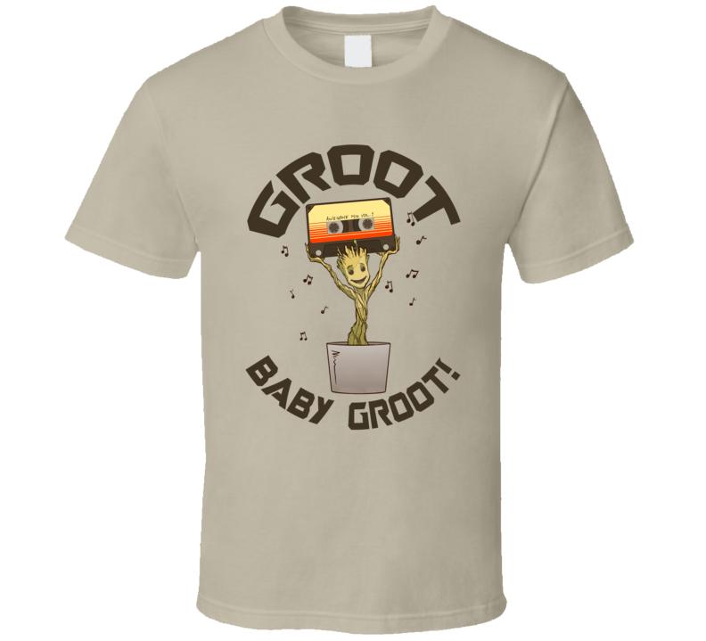 Groot Baby Funny Parody Guardians Galaxy Movie Fan T Shirt