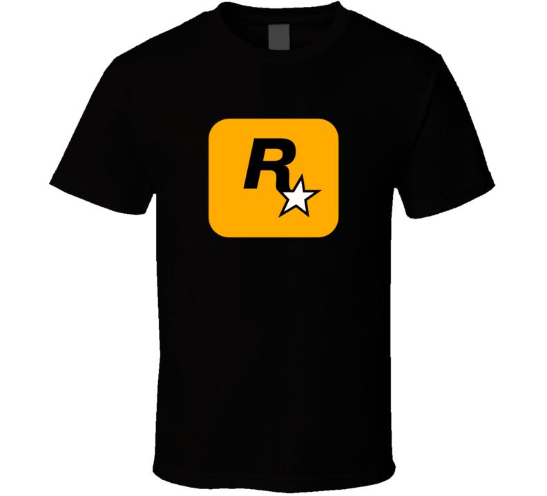 Rockstar Video Gamer Funny Parody Fan T Shirt