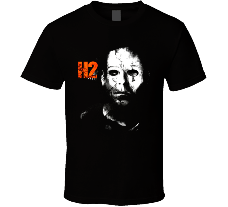 Mike Myers H2 Halloween Horror Movie T Shirt
