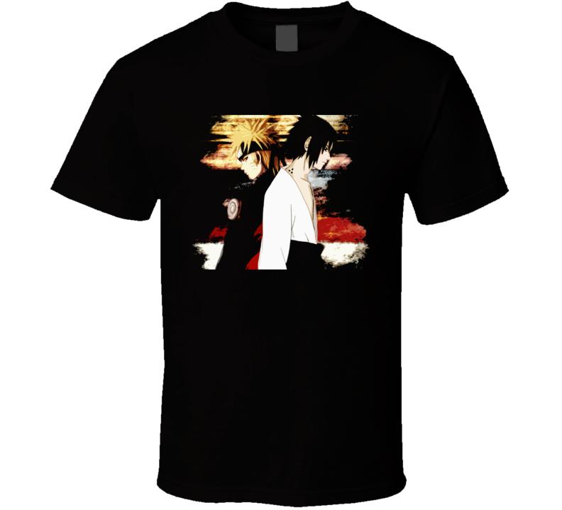 Naruto Shippuden Anime Manga T Shirt
