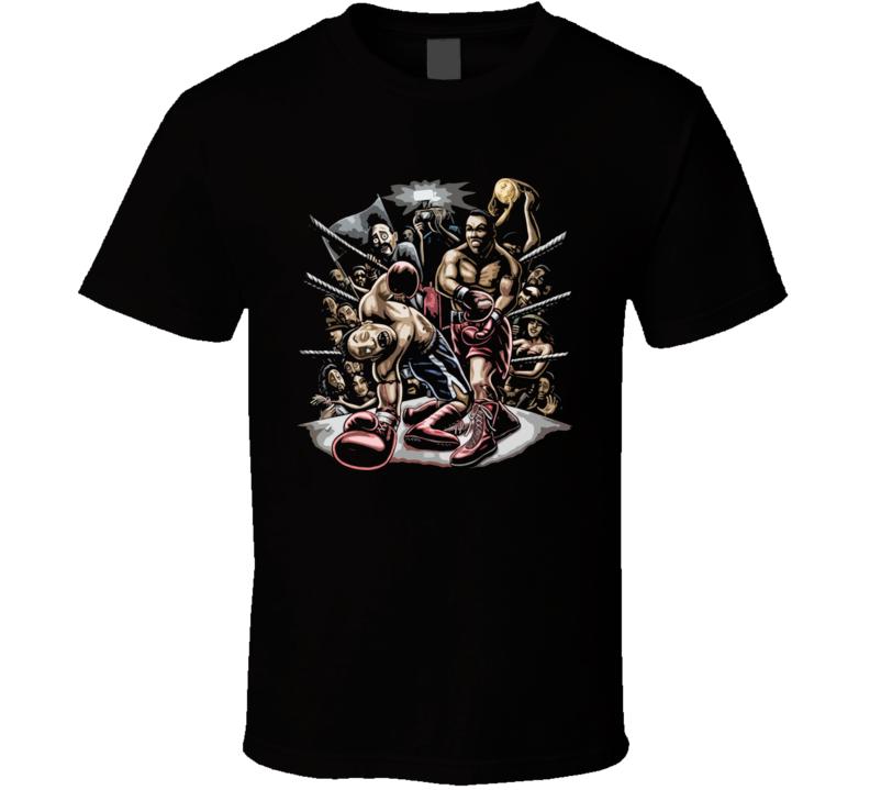 Boxing Match Fight T Shirt