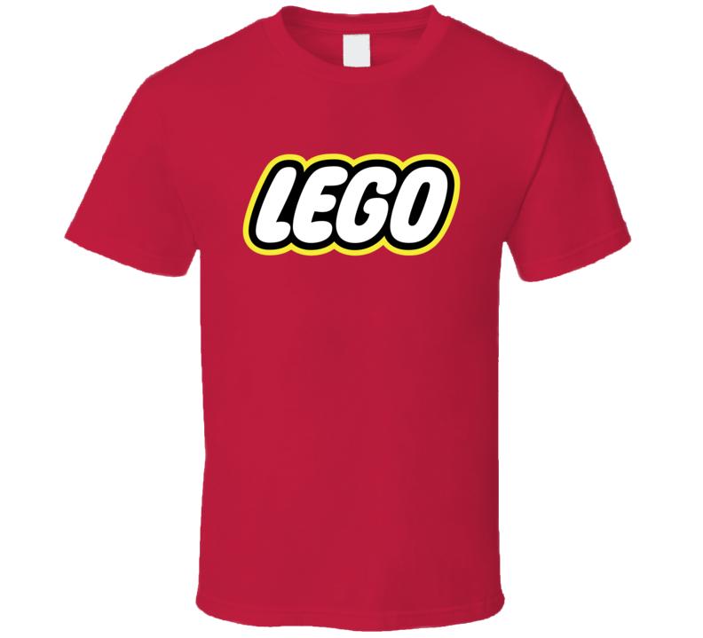 Lego Logo Fun Toys Kids Funny Fan T Shirt