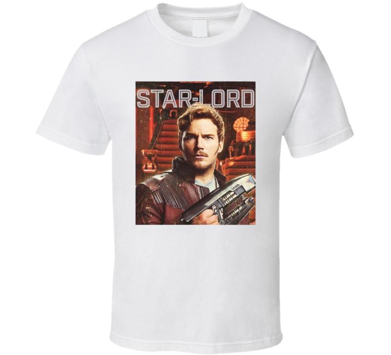 Star Lord Guardians Of The Galaxy Vol 2 Comic Movie Fan Parody T Shirt