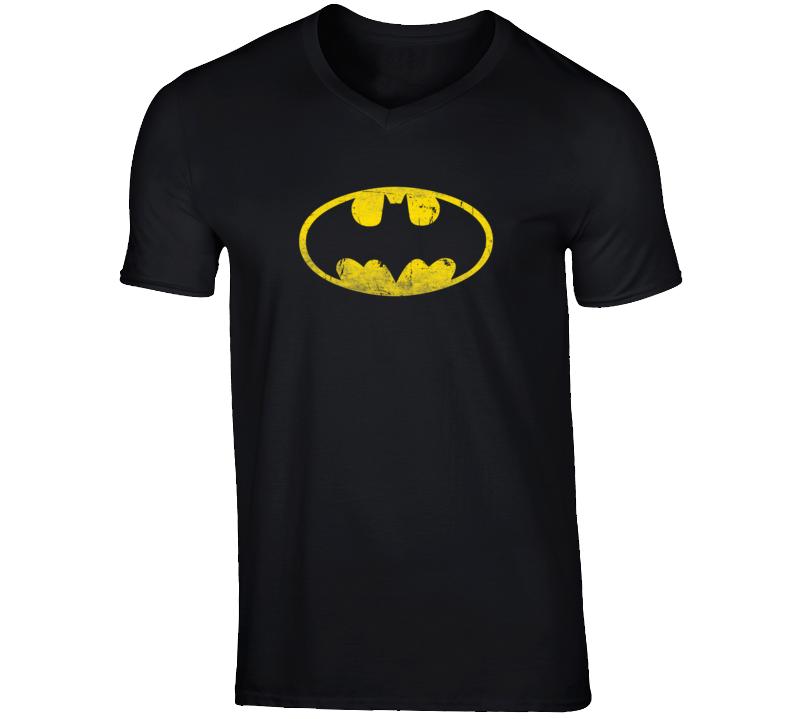 Batman Symbol Dark Knight Superhero Fanboy T Shirt