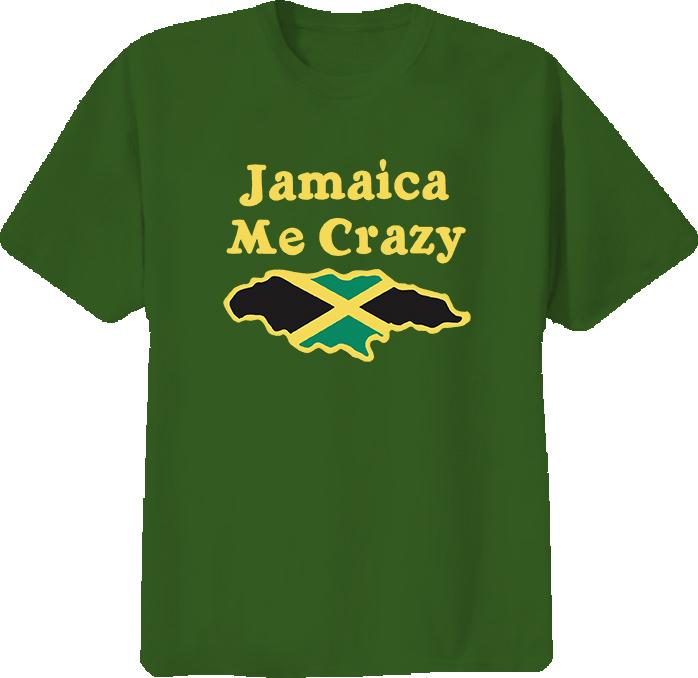 Jamaica Me Crazy Funny T Shirt