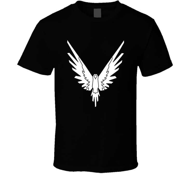 Logan Paul Cool Youtuber White Parrot Maverick Logo T Shirt