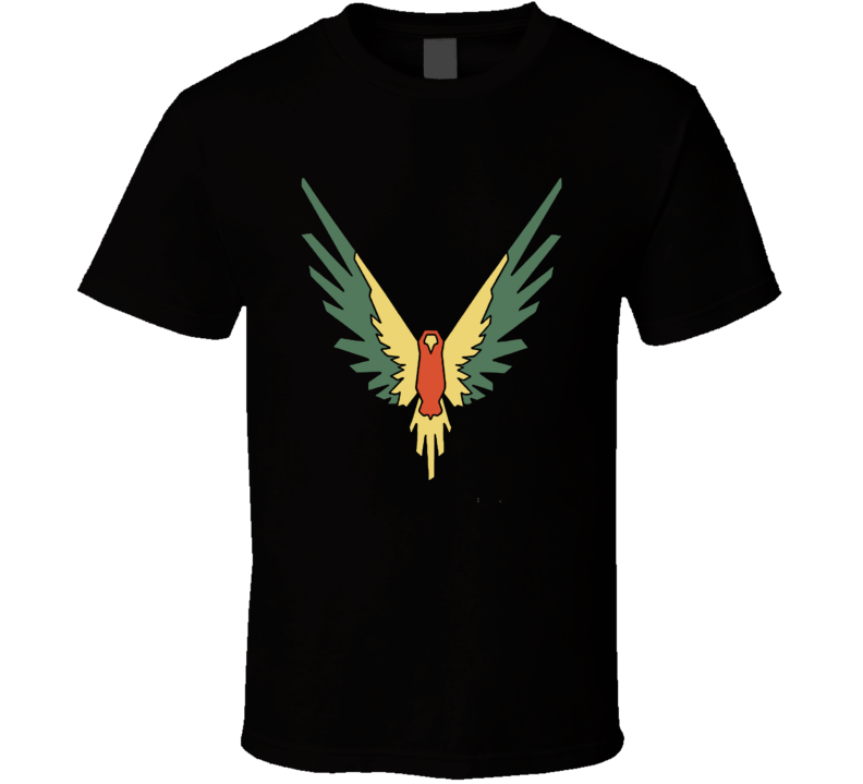 Logan Paul Cool Youtuber Parrot Maverick Logo T Shirt
