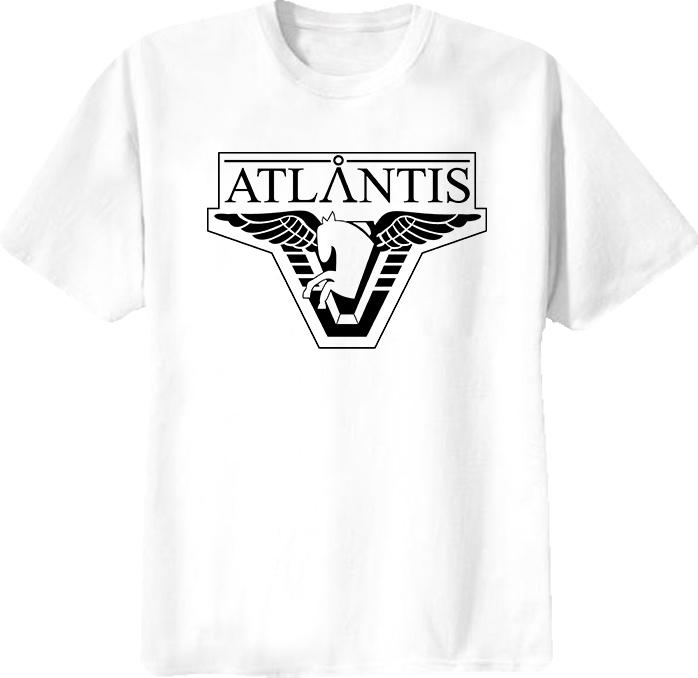 Stargate Atlantis Science Fiction T Shirt