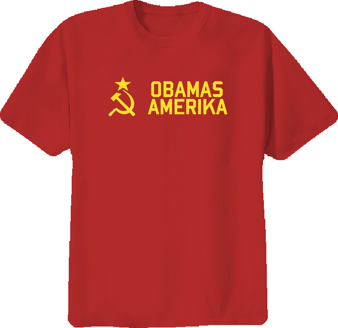 Obama Amerika Funny American T Shirt