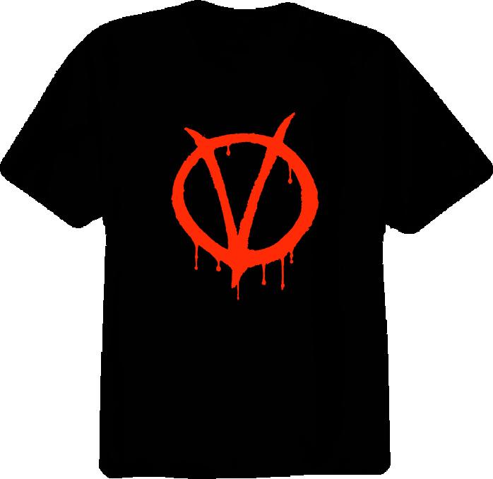 V For Vendetta Movie T Shirt