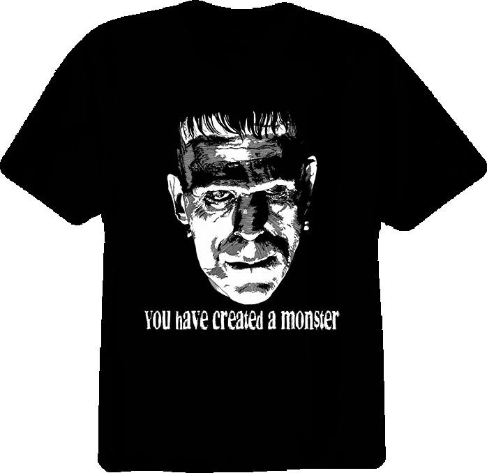 Frankenstein Monster Movie T Shirt