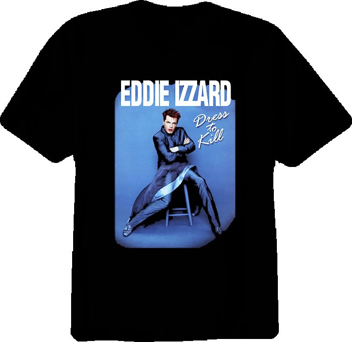 Eddie Izzard British Comedian Actor T Shirt