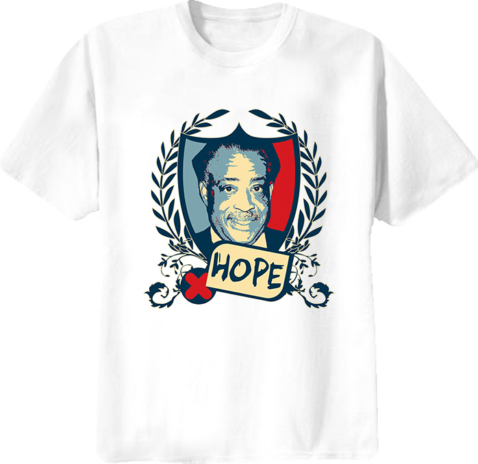 Reverend Al Sharpton Hope T Shirt