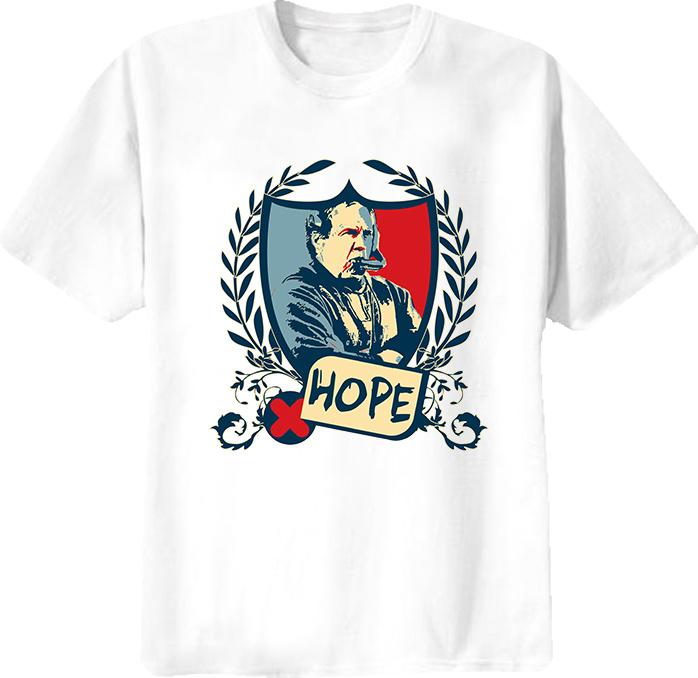 Bill Belichick Patriots Football Coach Hope T Shirt