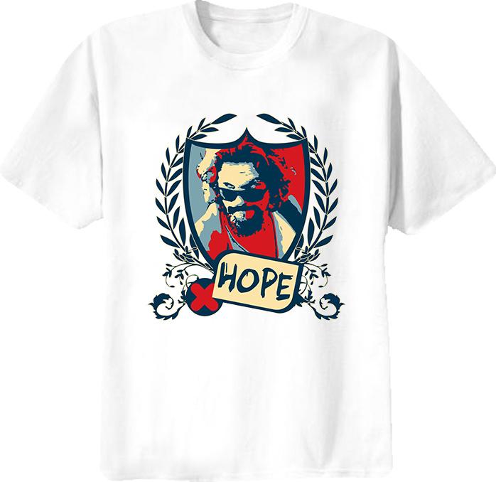 Big Lebowski Abide Hope T Shirt