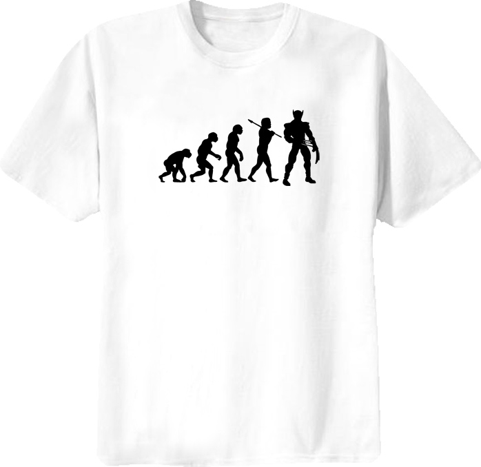 Funny Evolution Of X Men Comic Wolverine T Shirt