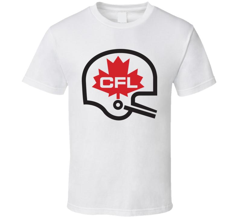 Cfl League Cool Helmet Logo T Shirt