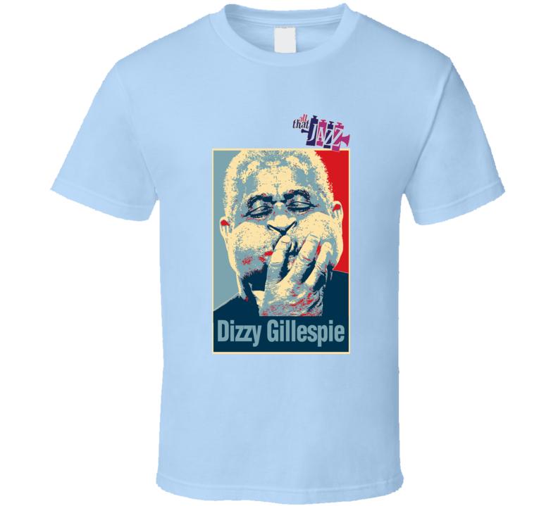 Jazz Legend Dizzy Gillespie Yardbird T Shirt