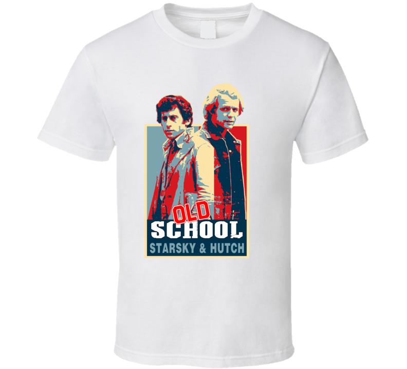 Old School Vintage Hope Starsky Hutch T Shirt