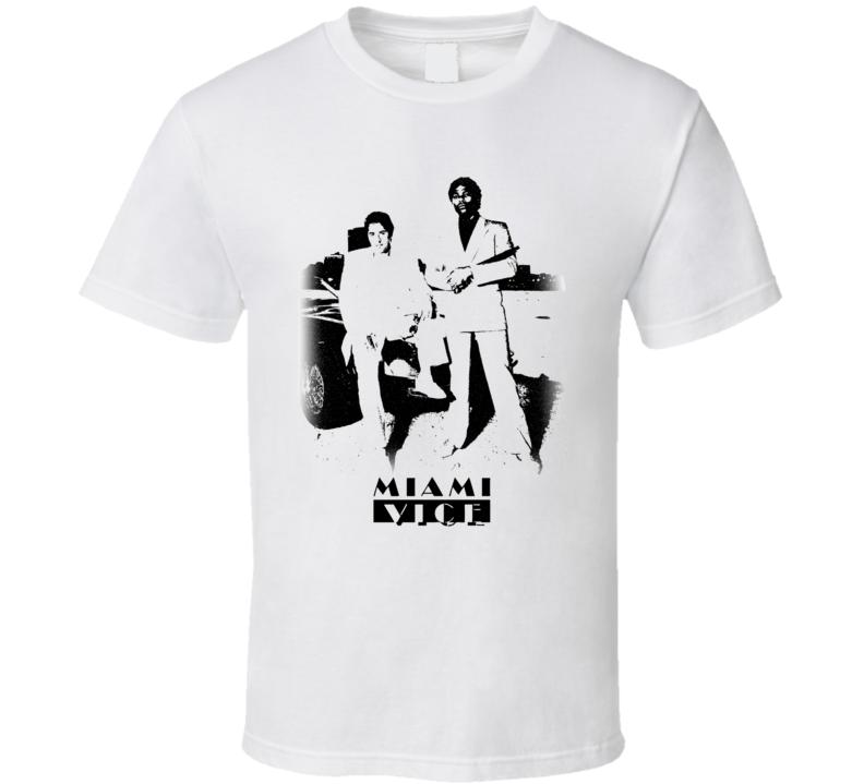 Miami vice crocket tubs vintage t shirt