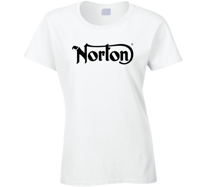 Norton Motorcycle Racing Ladies T Shirt