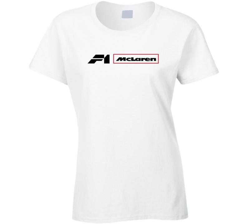 Mclaren Formula 1 Racing Ladies T Shirt