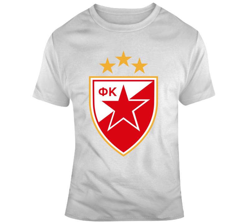 Red Star Fc Crvena Zvezda T Shirt