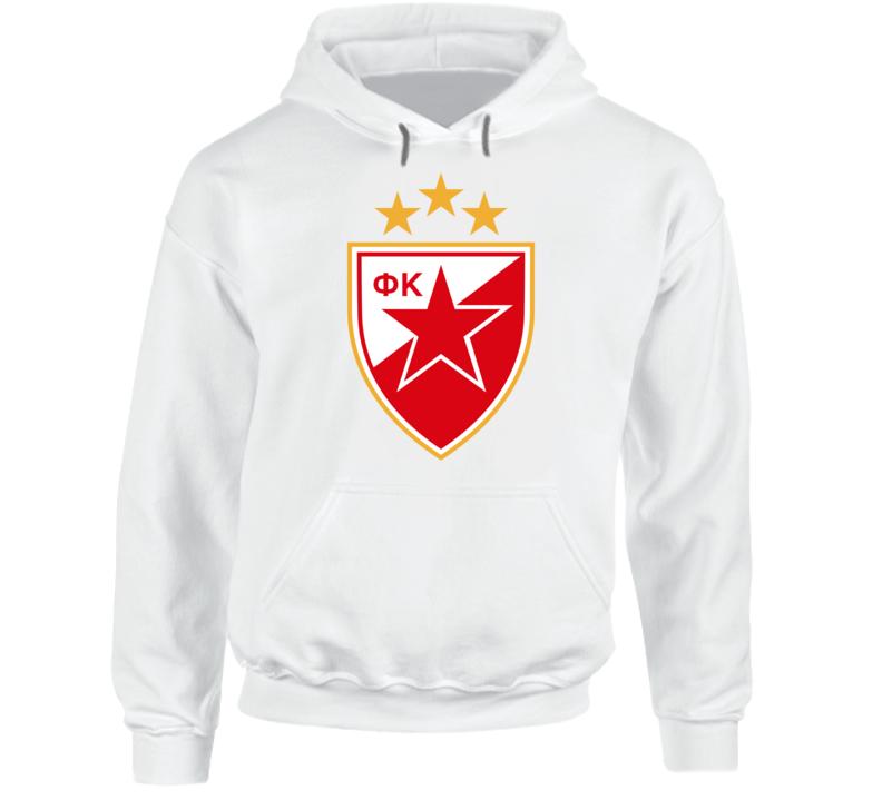 Red Star Fc Crvena Zvezda Hoodie