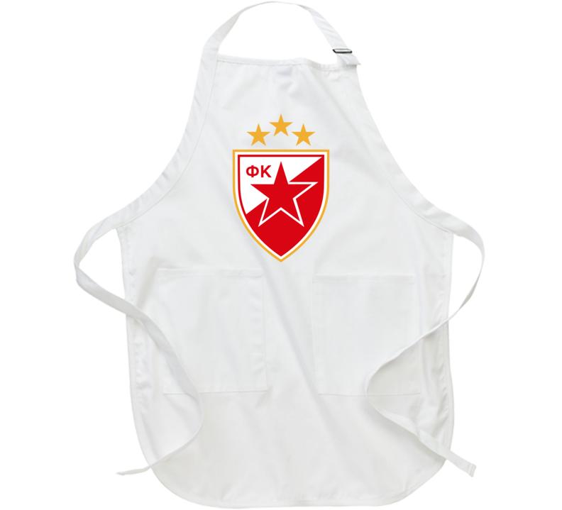 Red Star Fc Crvena Zvezda Apron