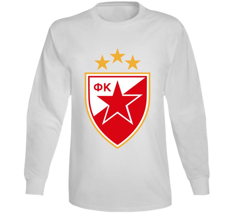 Red Star Fc Crvena Zvezda Long Sleeve