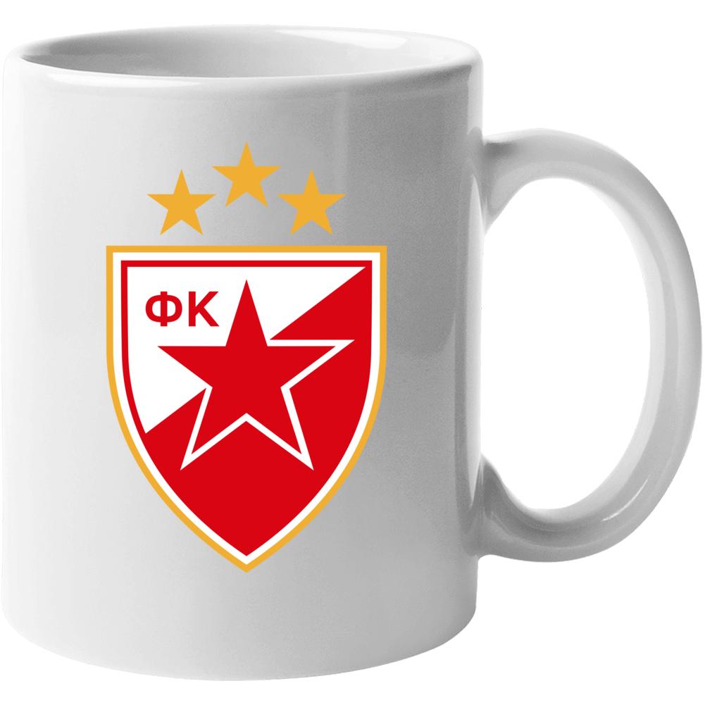 Red Star Fc Crvena Zvezda Mug