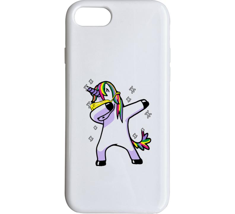 Dabbing Unicorn Phone Case