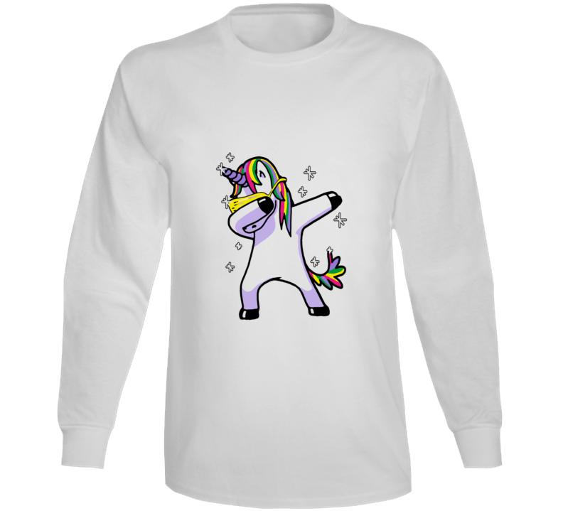 Dabbing Unicorn Long Sleeve