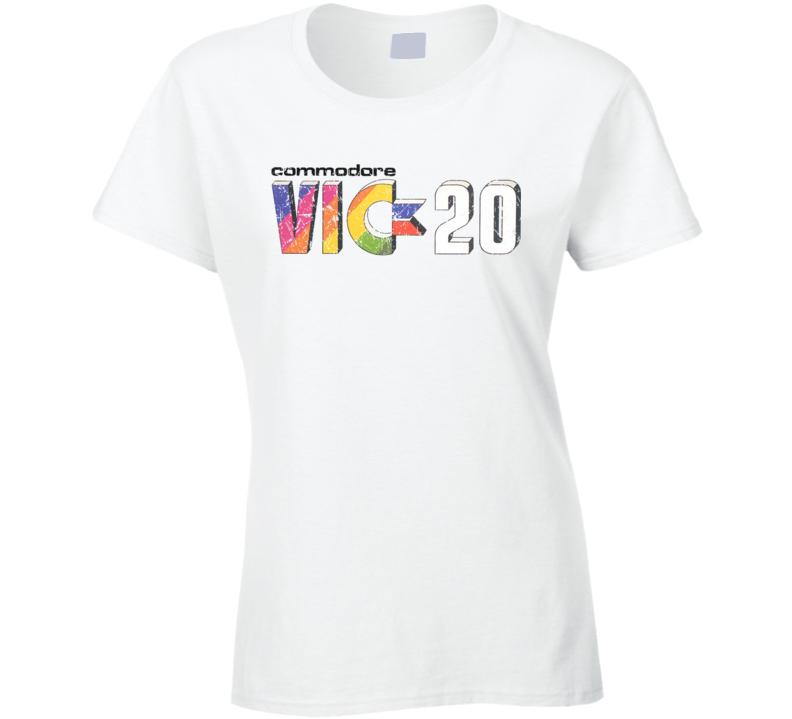 Vic 20 Vintage Ladies T Shirt