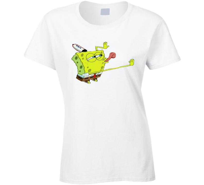 Spongebob Ladies T Shirt