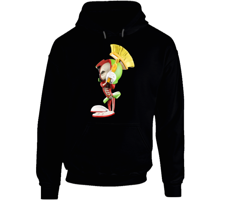 Marvin The Martian Xray Hoodie